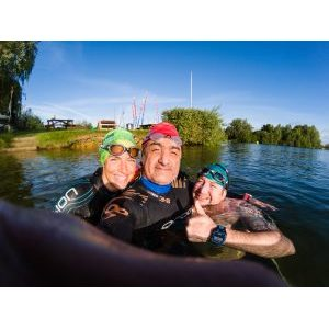 Keyvan's 14k swim for Alzheimers - Update 14