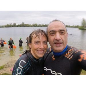 Keyvan's 14k swim for Alzheimers - Update 12